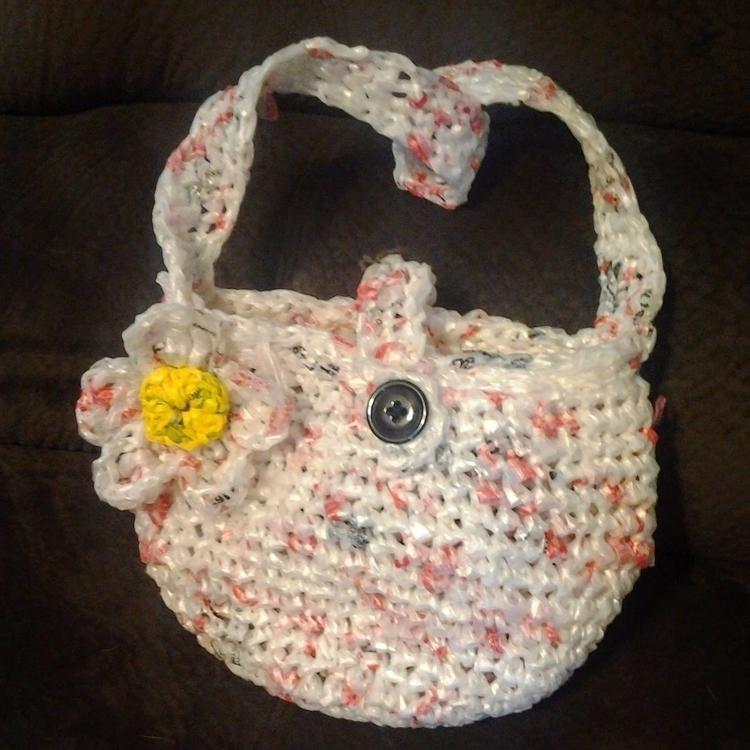 crochet recycled bags/purses pl - nelias_stitches | ello