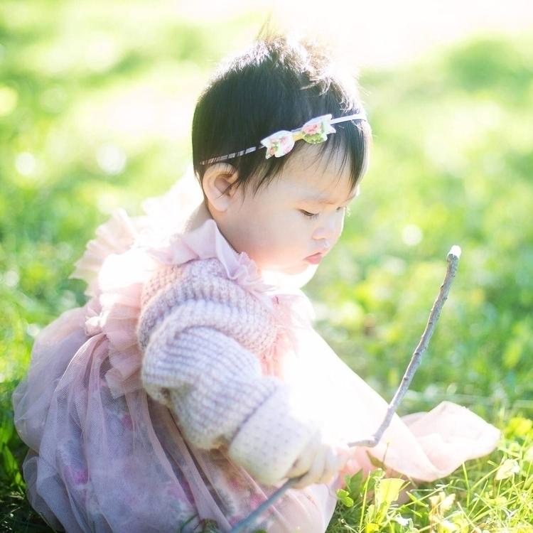 Monday meet - bow, floral, kidsfashion - shineandyayacutielo | ello