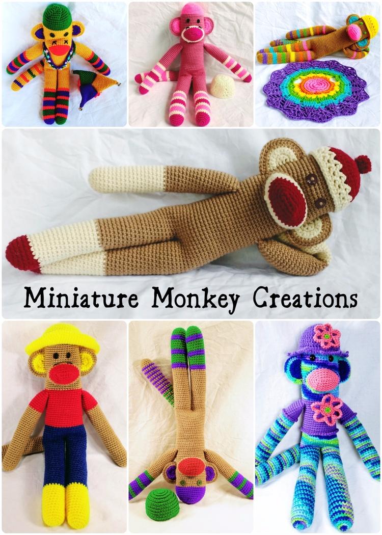 Happy fun monkeys piling shop?  - miniaturemonkeycreations | ello