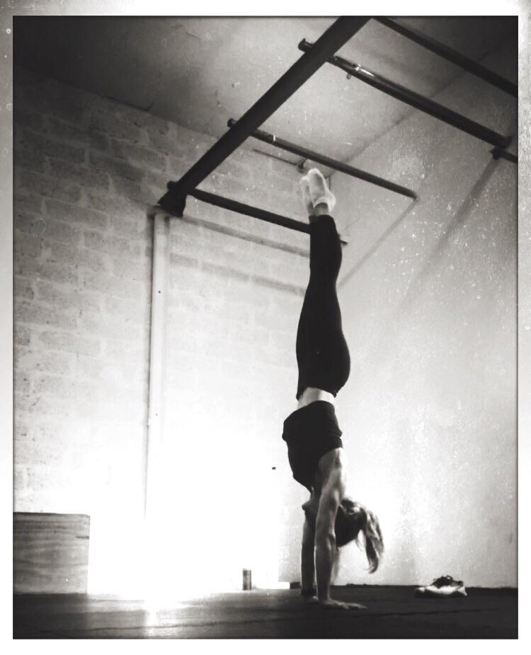 float space - yoga, handstand, floor - yogiwod | ello