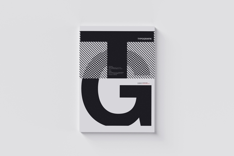 011 / Typografik Magazine Cover - mbdesign | ello