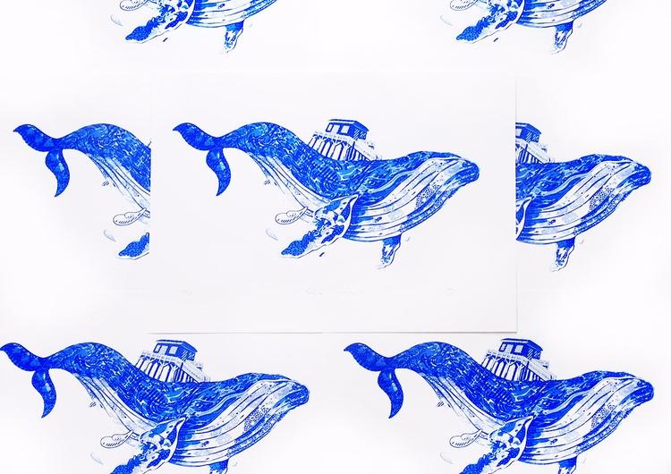 Baleine Tchanquee Original hand - beatoa | ello