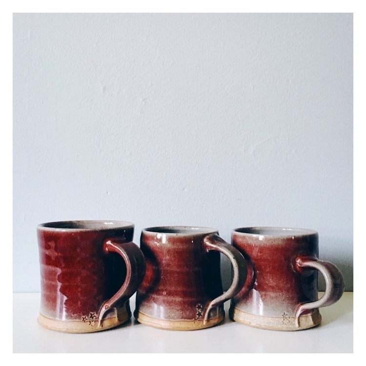 trio mugs favorite glazes. ruby - whimandvigor | ello