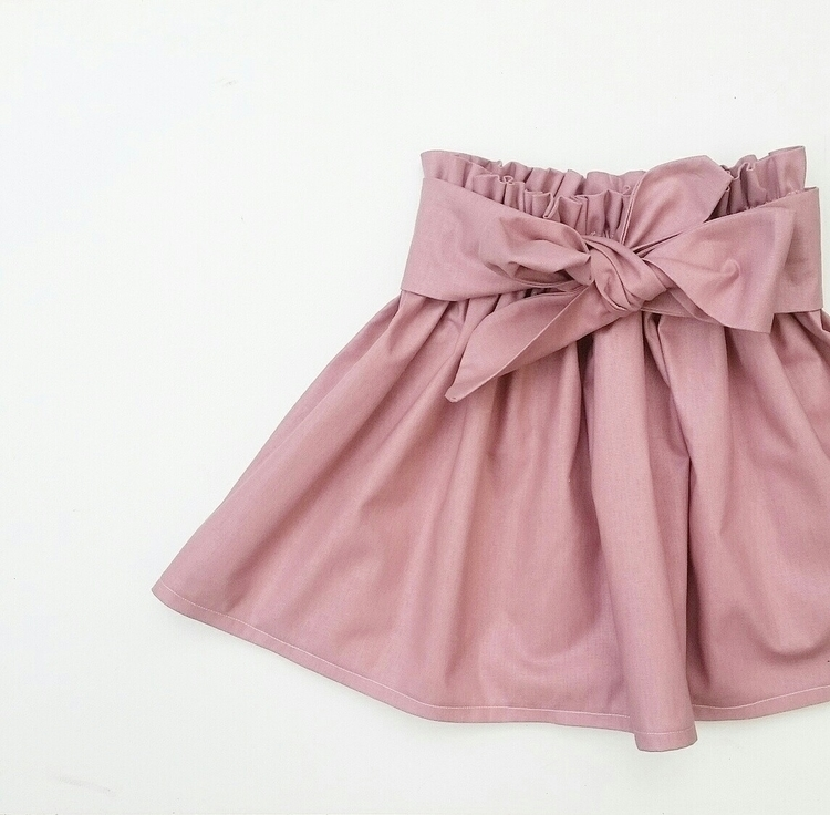 Blush Sash Skirt. online 30% co - lulus_handmade | ello