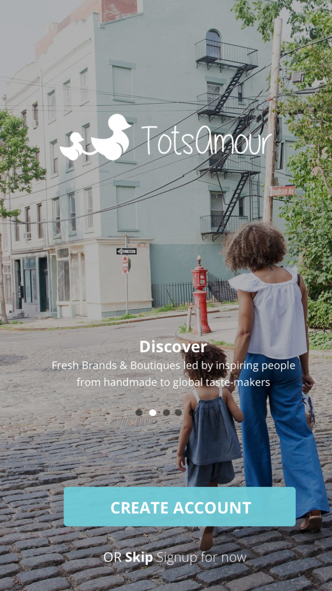 Brand designs app development B - totsamour | ello