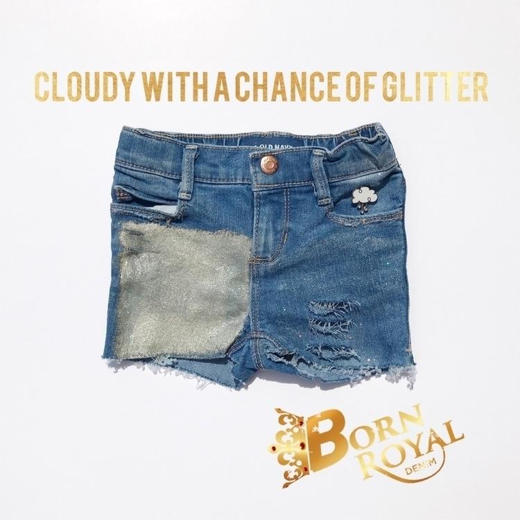 :cloud:️ Cloudy Chance Glitter  - bornroyal_denim | ello