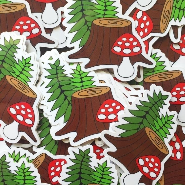 forest floor stickers shop! fre - forageworkshop | ello