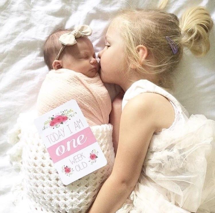 Heart melt! gorgeous sisters Da - blossomandpear | ello