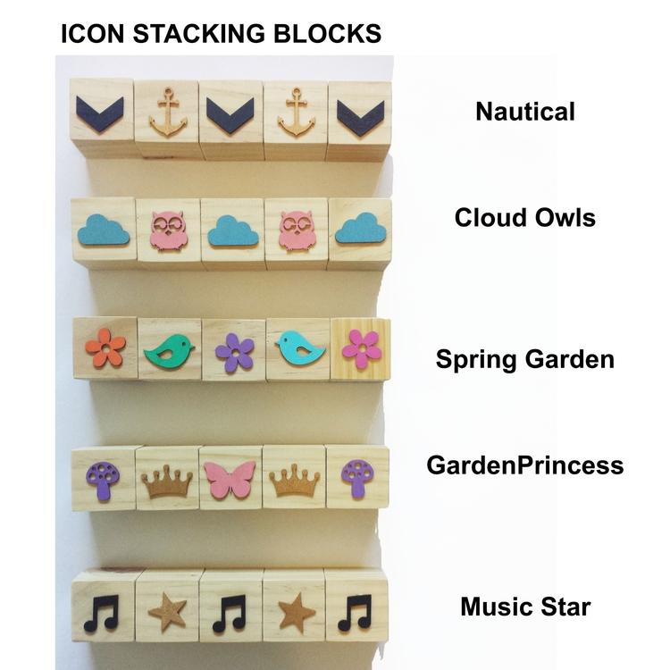 Icon Stacking Blocks - featherwooddesigns | ello