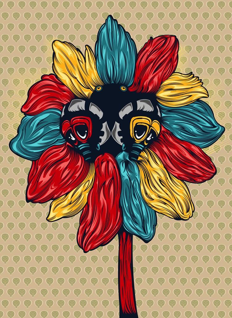 Flowers - kzengjiang, art, illustration - kzengjiang | ello