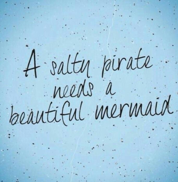 Mermaid, Pirate, Beautiful, Love - strawbsgirl | ello