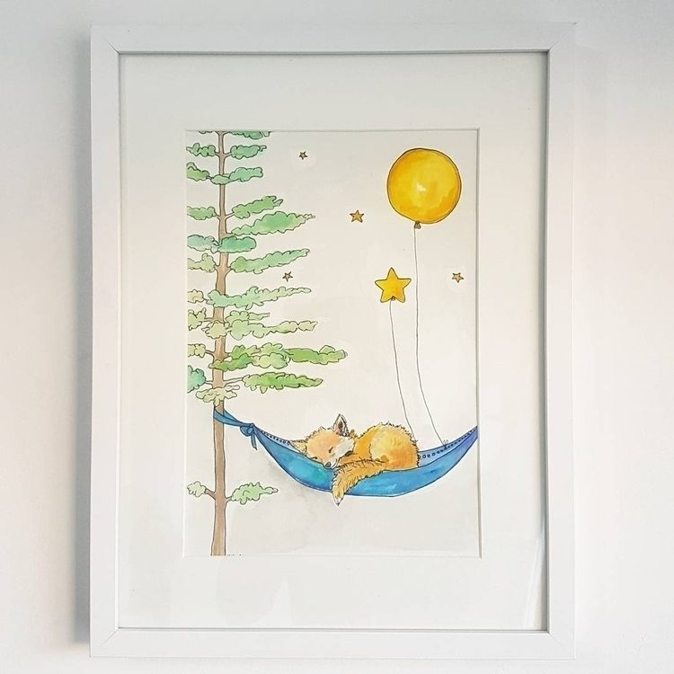 night sleep tight, nursery art  - somethingfromkatie | ello