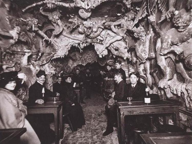 Parisian nightclub 1900s - vintage - victorianchap | ello
