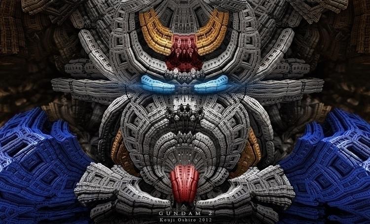 Gundam 2 love robots - gundam, japan - koujioshiro | ello