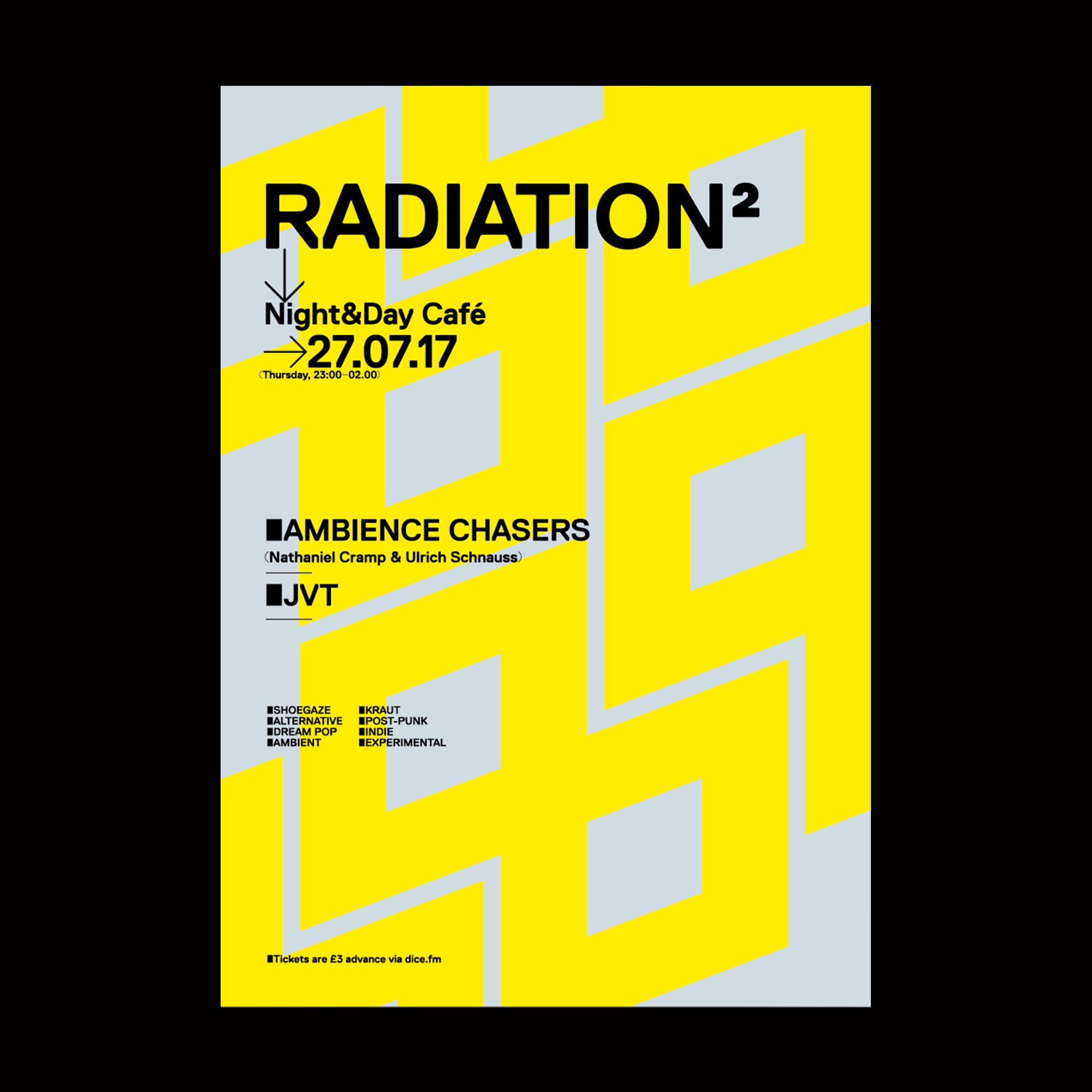 RADIATION evening music Manches - modularlab | ello