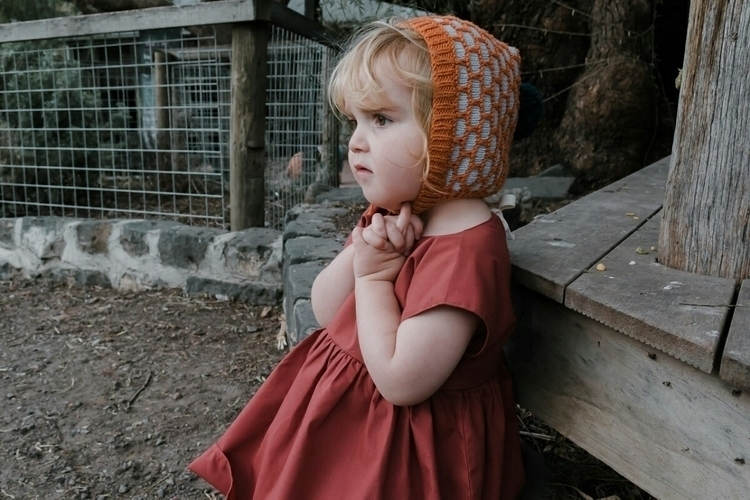 Alfie pixie beanie burnt orange - abbotsfordknits | ello