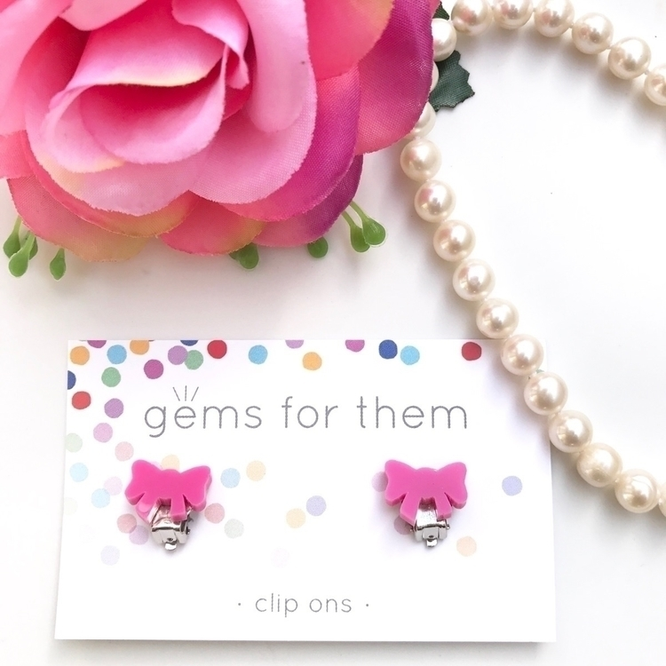 cliponearrings, kidsearrings - gemsforthem | ello
