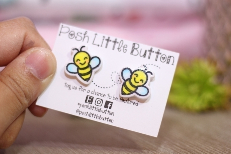 water resistant :honeybee:#pape - poshlittlebutton | ello