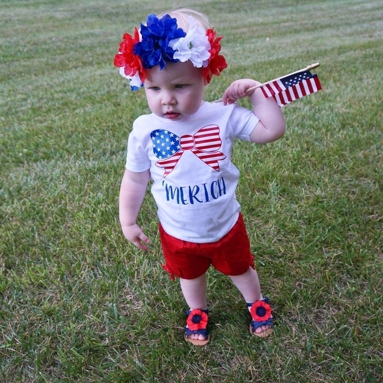 'Merica 4th July shirt $12 - raisinglittlecheeks | ello