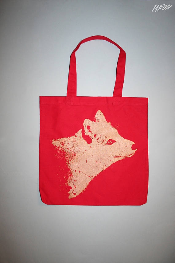Fox tote - fox, 1aeon - 1aeon | ello