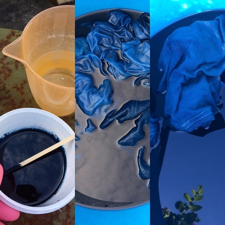 Experimenting. Dyeing garden - experimenting - arnolds-attic | ello