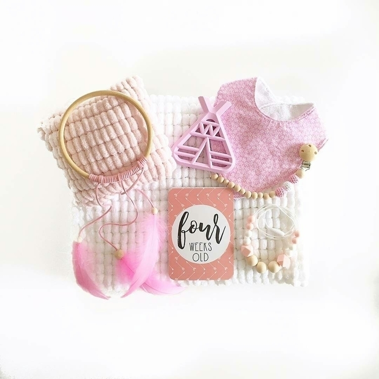Mum Bub Bundle pink gorgeous Wh - chickknitts | ello