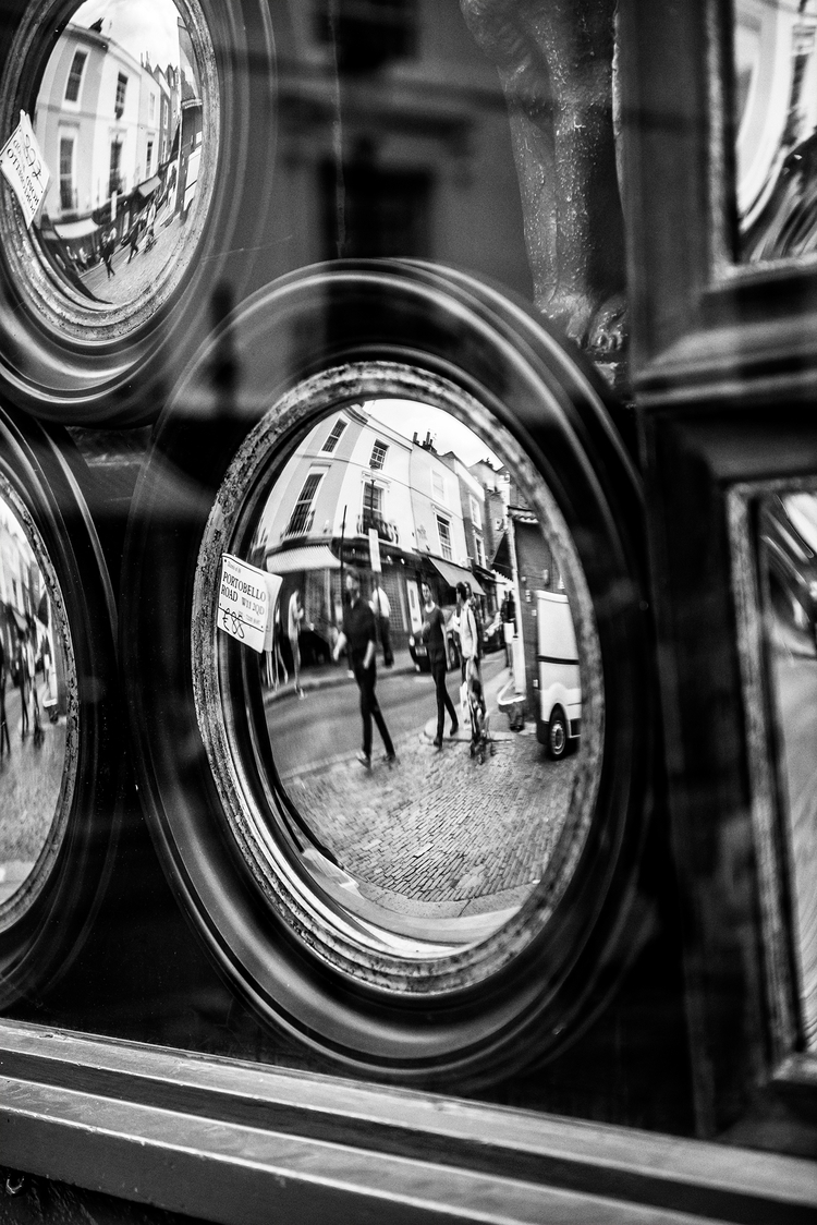 Portobello Reflections - Nikon, D800E - toshmarshall | ello