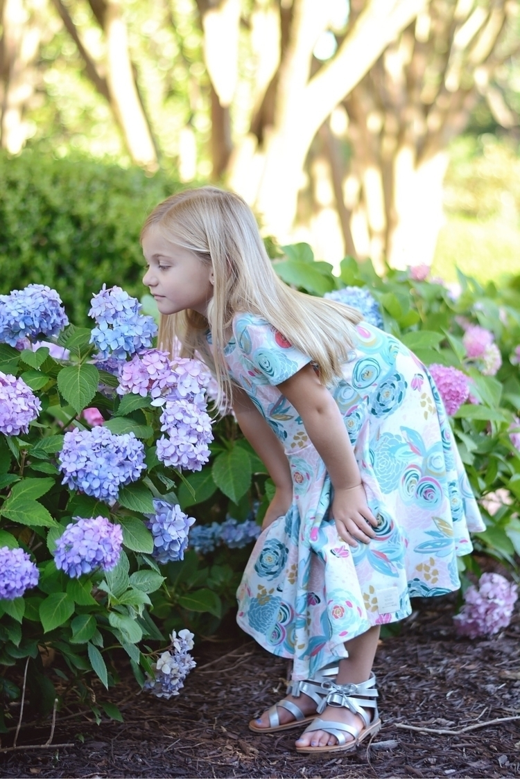 time stop smell flowers dress c - withlove_eden   ello