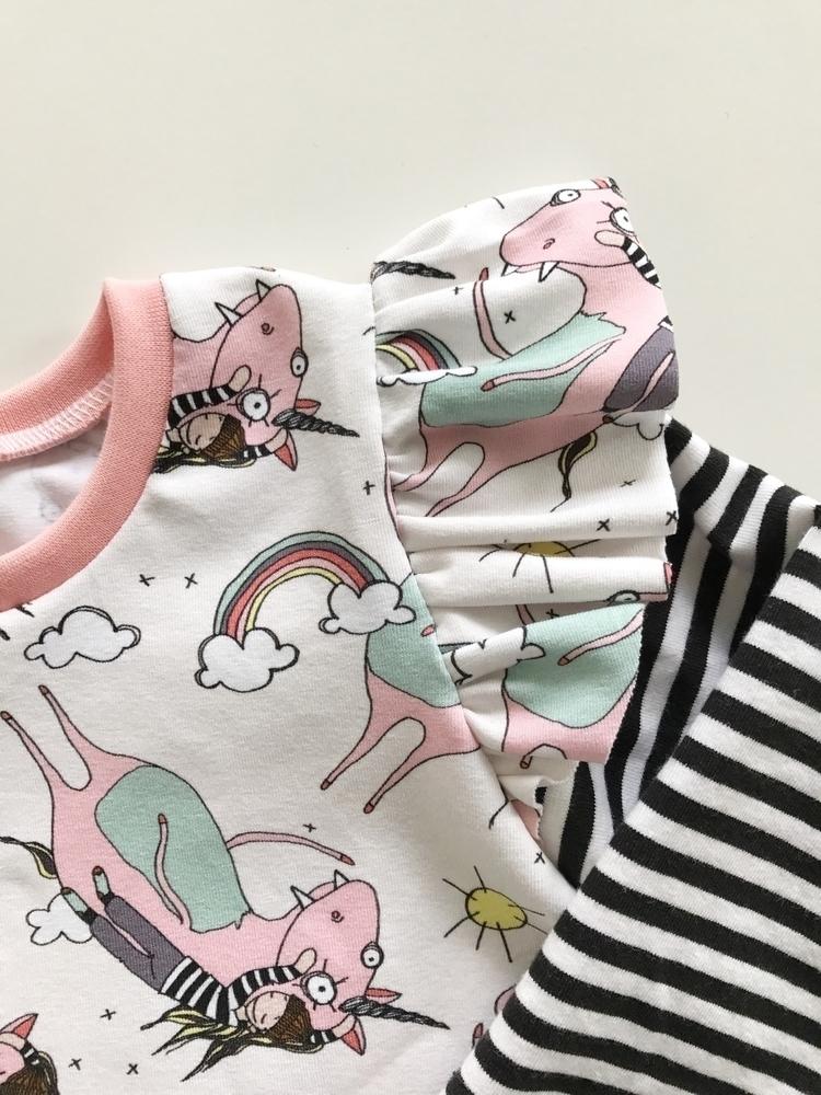 Quirky Unicorns Stripes - unicorns - littleboubba | ello