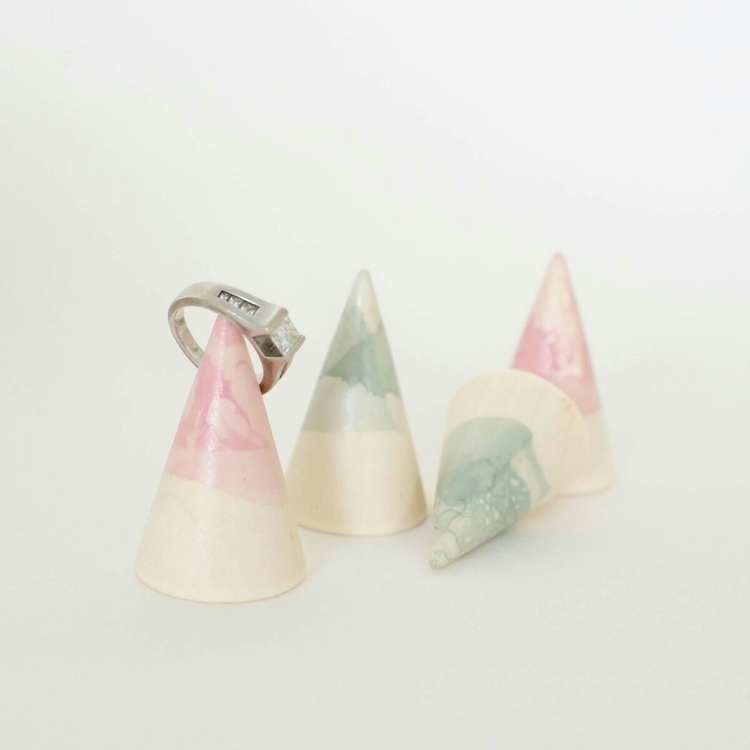 ladies. Check marble wooden rin - deerandfox | ello