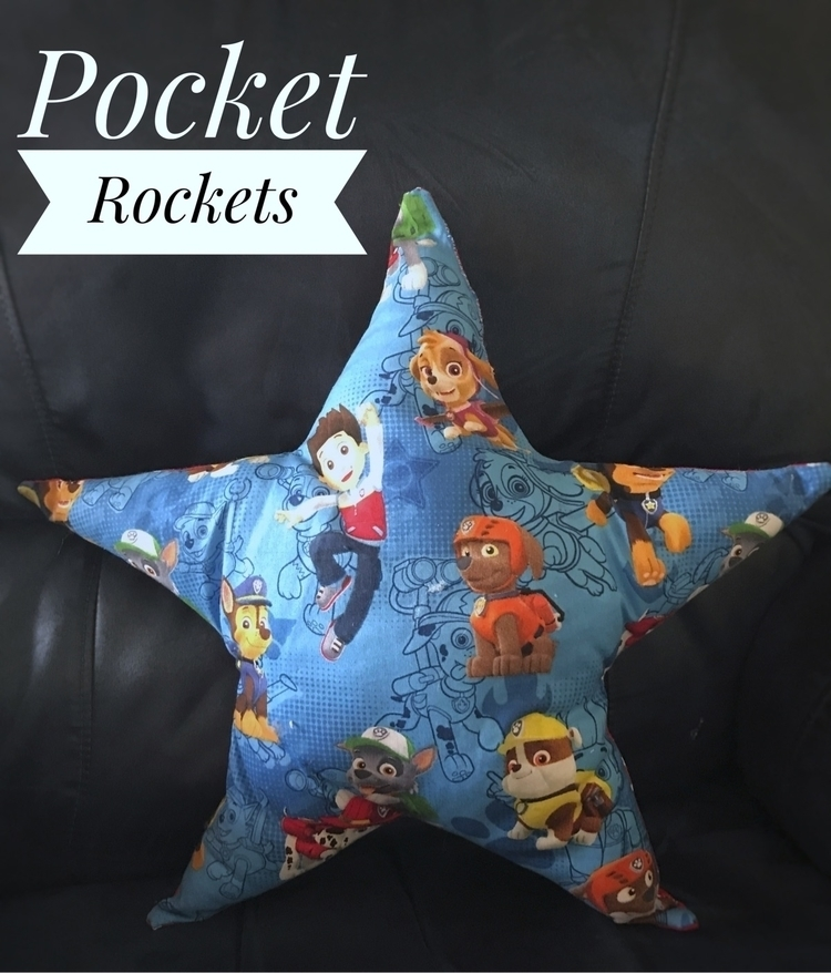 Paw Patrol Star Cushion - pocketrockets | ello