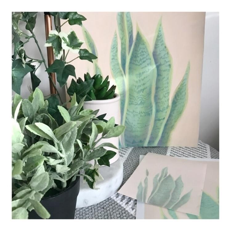 green, . wait babies - botanicalart - rosannahaywardportraitartist | ello