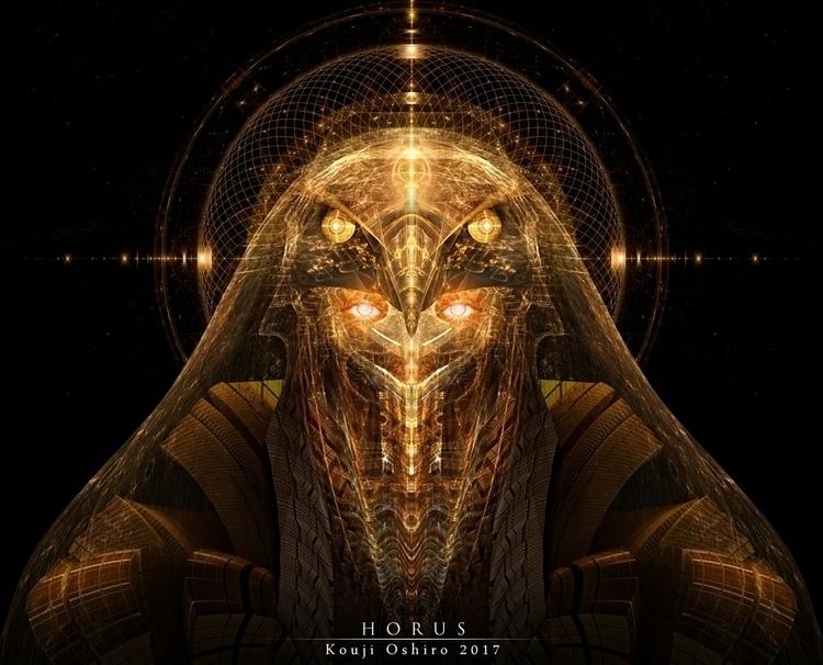 Horus - god, falcon, egypt, apophysis - koujioshiro | ello