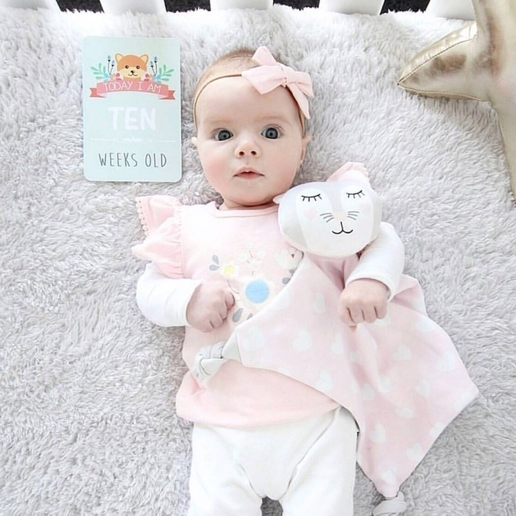 Beautiful baby Tess ♡ sweet Woo - blossomandpear | ello