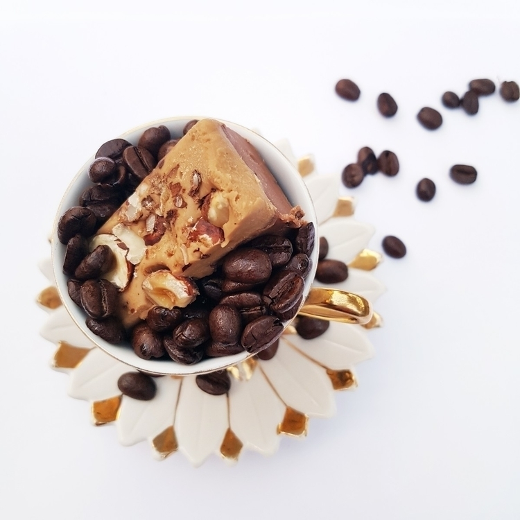 Hazelnut Coffee Cream Fudge Hea - hartbyhayley | ello