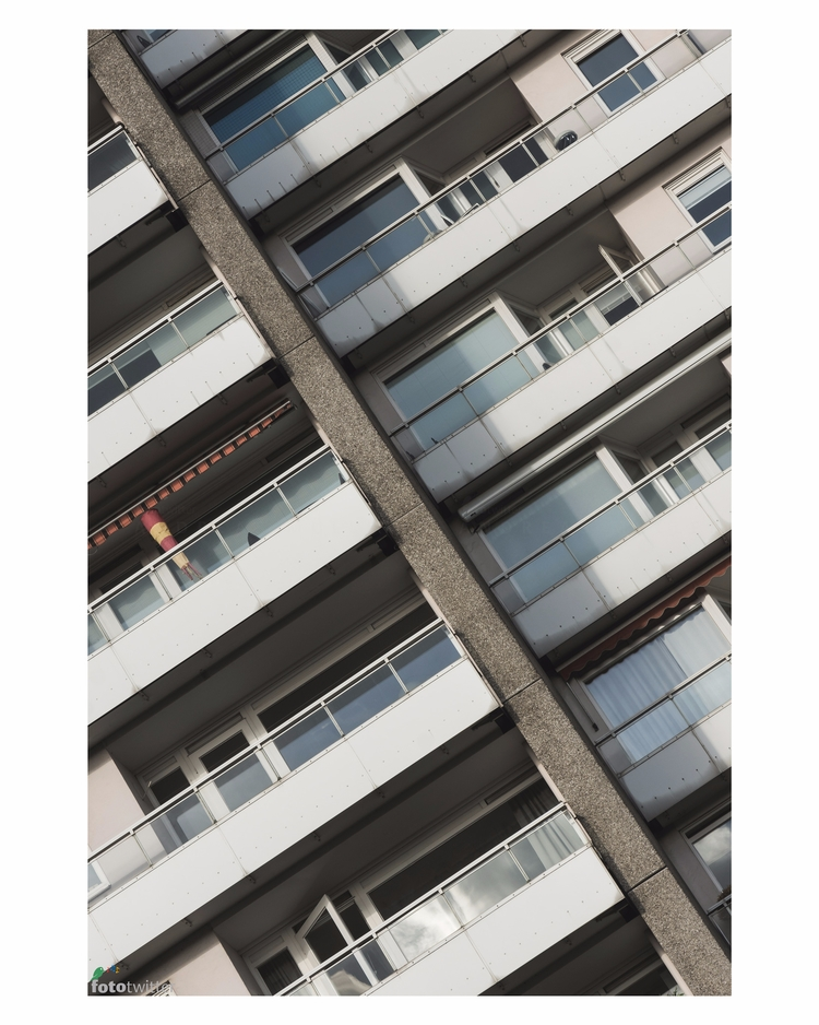 stripped balcony - architecture - fototwitter | ello