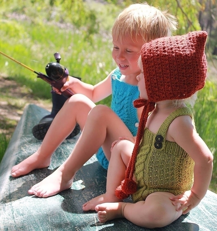 Fishing! adorable Adeline Woodl - oorwoolly | ello