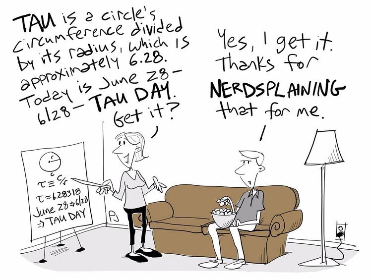 Happy Tau Day! Nerds, explain c - chumworth | ello
