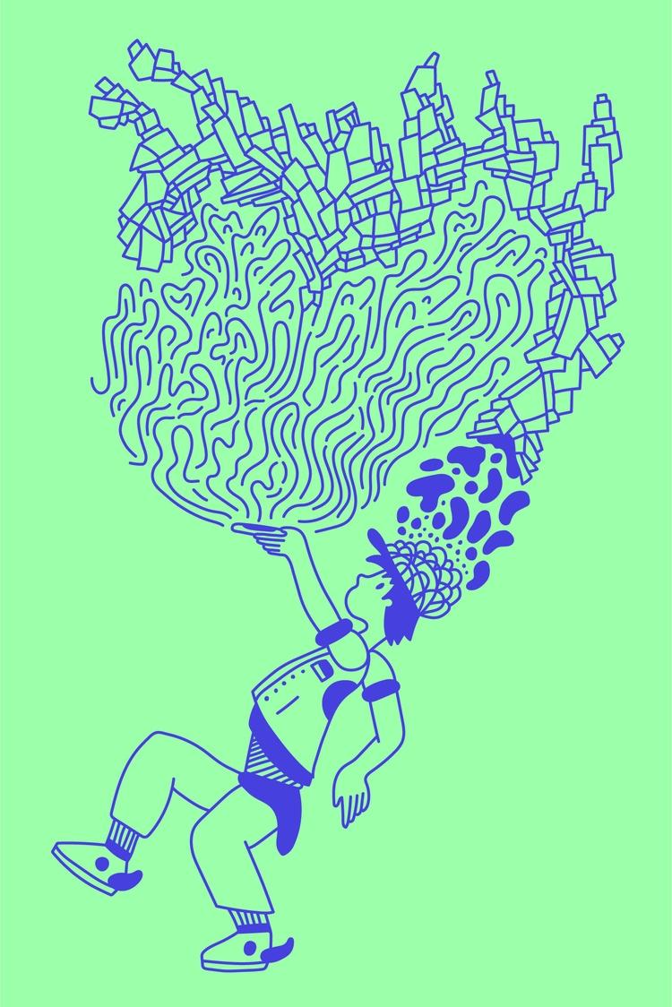Brain Power — funky vision futu - heybop   ello
