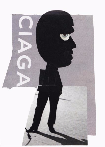 Ciaga, paper collage. 2017, a5  - ewalook | ello