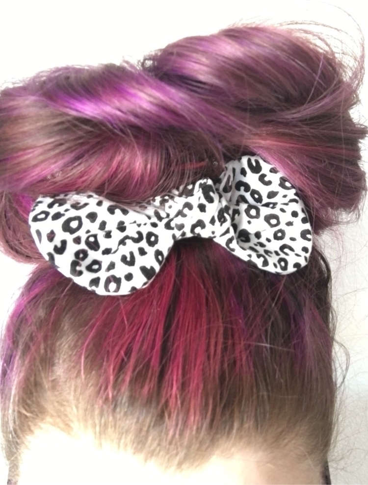 mom bun point leopard bow! merm - laced_w_love | ello