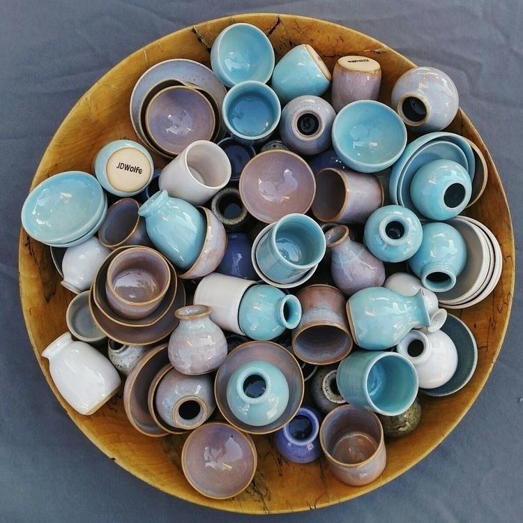 miniature pottery market - ellomaker - jdwolfepottery   ello