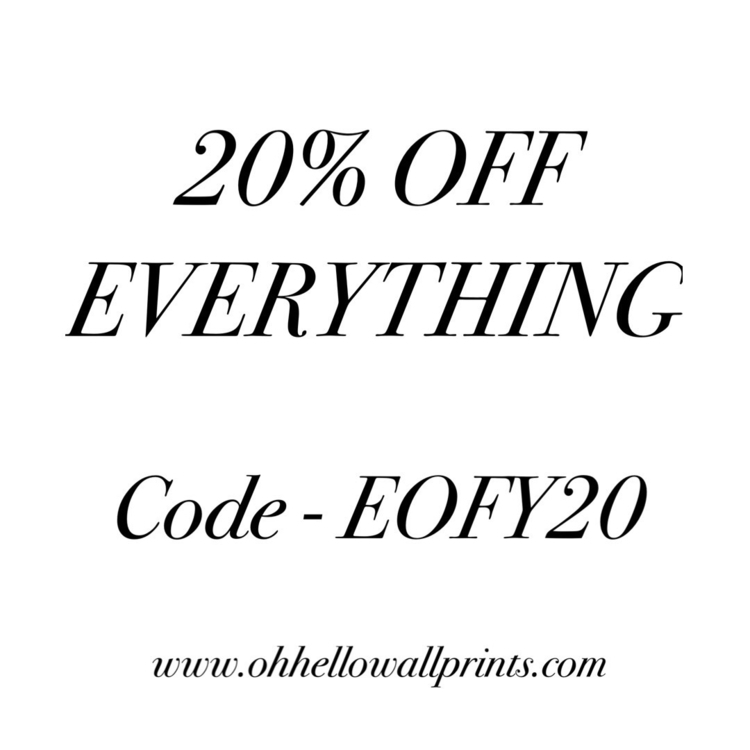 days grab 20% Includes Clearanc - ohhellowallprints | ello