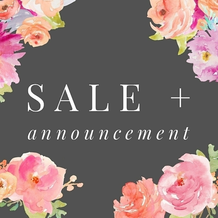 SALE + ANNOUNCEMENT Hey share S - houseofswordstarot | ello