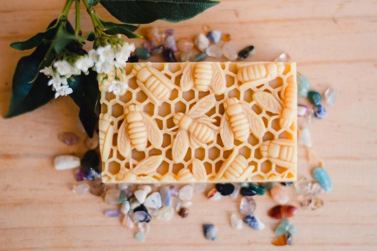 bee, artisansoap, handmadecoap - ninasbees | ello