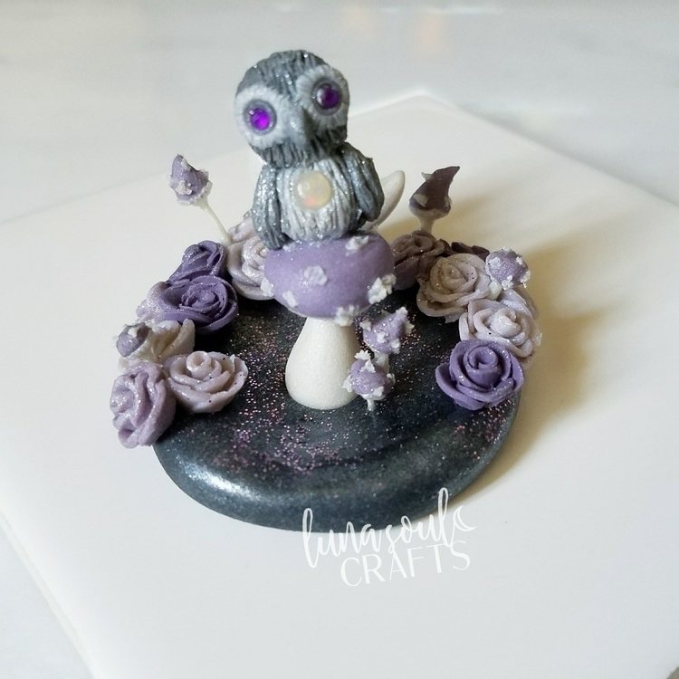Magical Owl figure dream beauti - lunasoulcrafts | ello