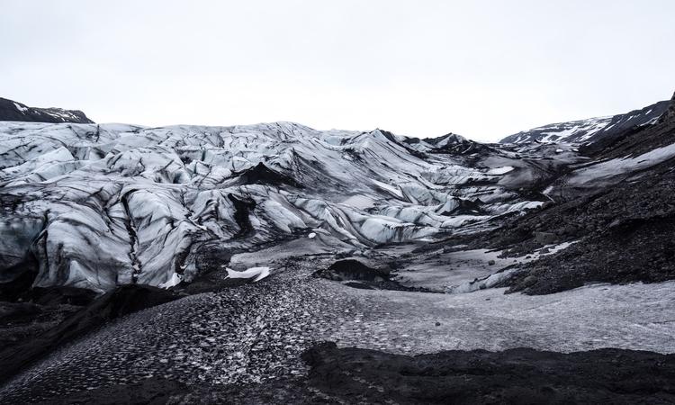 journal: Glacier—Find image min - minimalismlife | ello