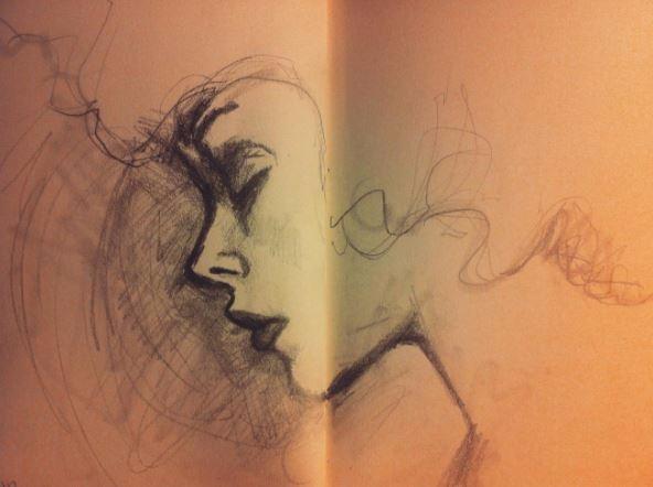 sketches. started writing artis - artlilliums   ello