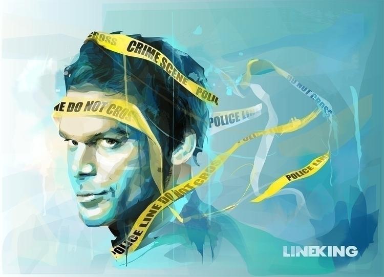 Dexter: Dark passenger crosses  - lineking | ello