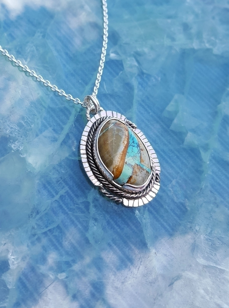 Royston ribbon turquoise talism - kjohnsonjewelry | ello